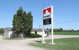 Mount Forest location.
