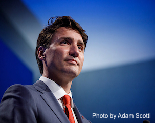 Justin Trudeau photo by Adam Scotti